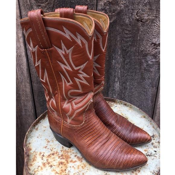 c9cb6461eaa Tony Lama Leather Cowgirl/Western Boots sz 6-6.5